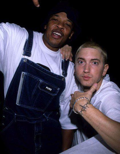 Dr. Dre and Eminem | Motherfuckin Eminem | Pinterest | Eminem