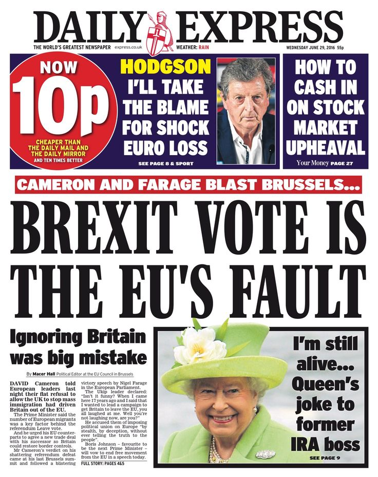 After 43 years of being in the EU, there was NO reform despite what David Cameron said. They only have themselves to blame...