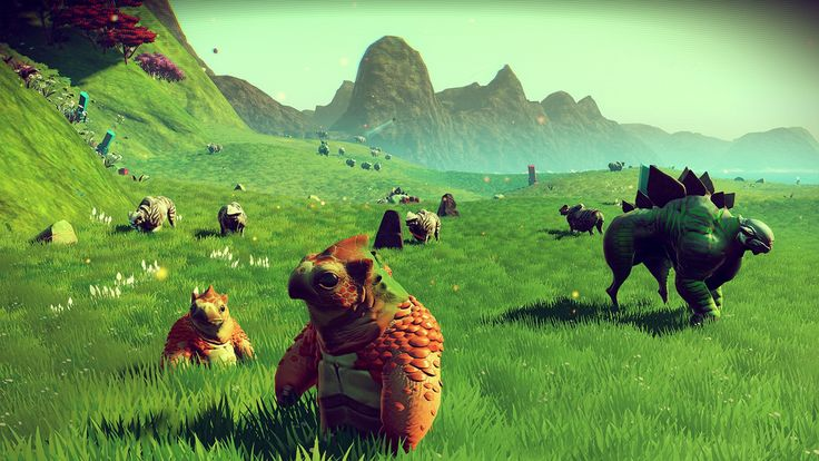 no man's sky | No Man's Sky' Gameplay: When In Space Rome, Befriend The Space Romans ...