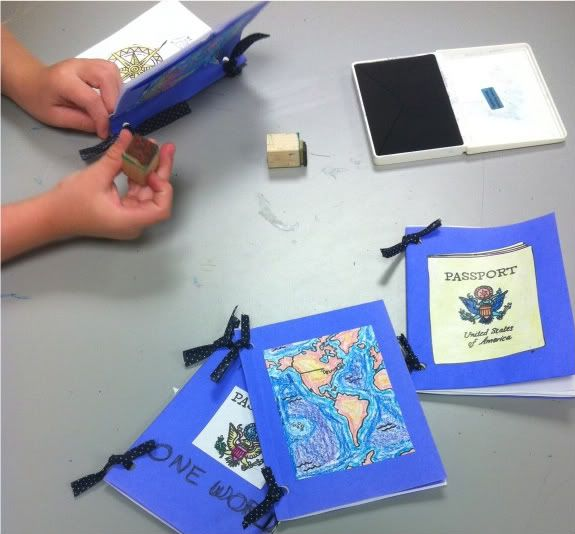 126 best preschool around the world theme images on pinterest my tot i are going to make a passport for nps ccuart Images
