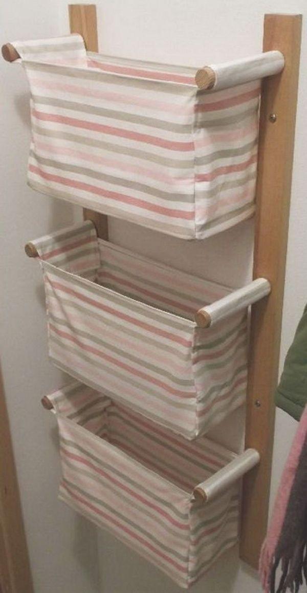 Wandbehang Lagerung mit 3 IKEA Körbe; keine Anweisungen auf
