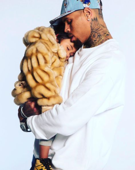chris brown, daddy, baby girl More