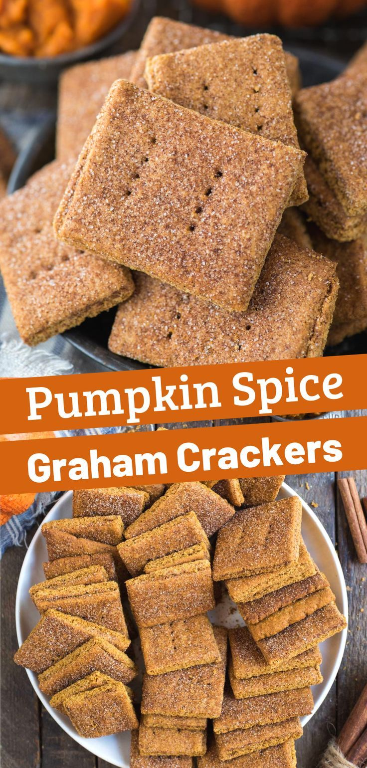 These Homemade Pumpkin Graham Crackers Are Packed With Pumpkin
