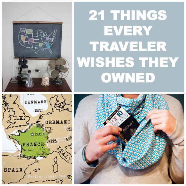 """21 Things Every Traveler Wishes They Owned -- My fav: """"A socially acceptable pair of sweat pants to wear while traveling.""""  YES."""