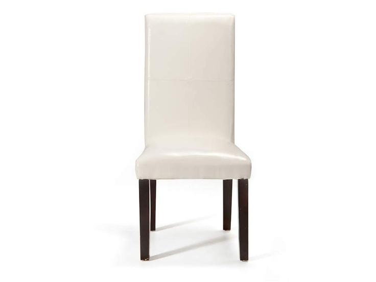 Hi Back Chair PU White  600