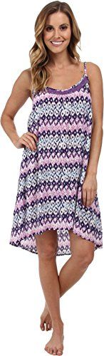 PJ Salvage Womens PJ Salvage Challe Chic Dress Purple XSmall *** Want additional info? Click on the image.