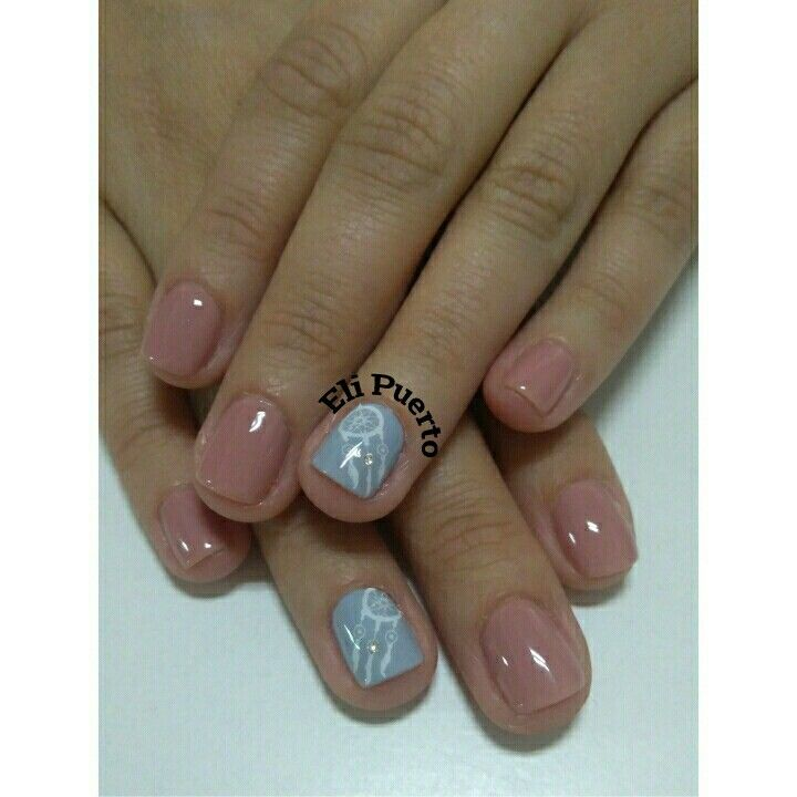 Nails  Uñas atrapasueño Esmaltado permanente Diseño de uñas