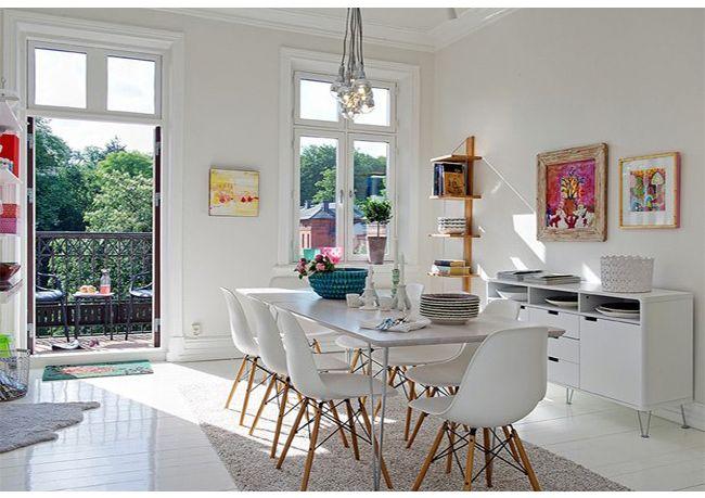 Muito próximo ao estilo minimalista com simplicidade, a decoração Escandinavo funcionalidade e iluminação natural também possui linhas retas. Saiba mais: