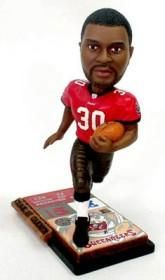 Tampa Bay Buccaneers Charlie Garner Ticket Base Forever Collectibles Bobblehead