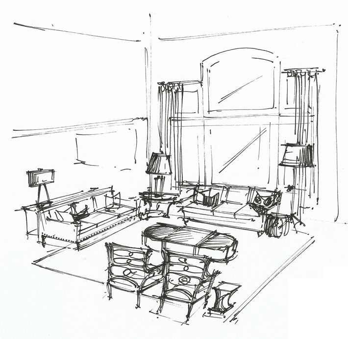20 best interior sketches: floor plans & renderings images on