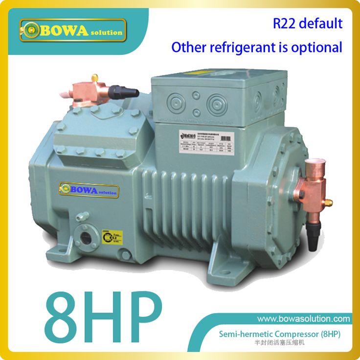 M4 8HP semi-hermetic reciprocating compressor for milk tank replace Bitzer 4TCS-8.2(y) compressor or copland DWM compressor #Affiliate