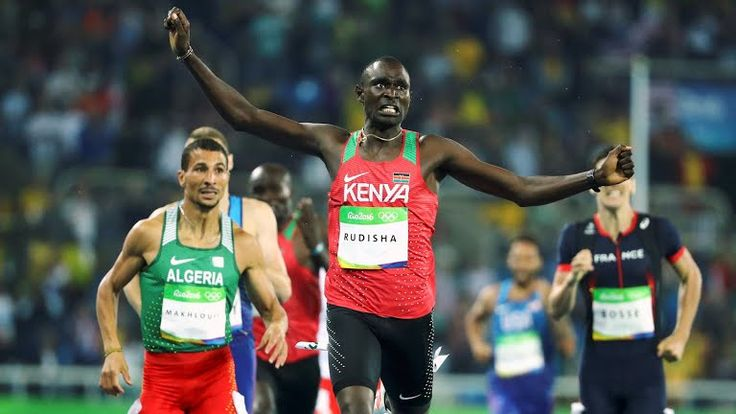 David Rudisha emerged victorious in the 800m race in the ongoing Rio Olympics…