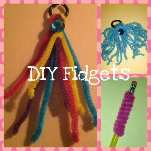 DIY tactile/sensory fidgets for classrooms and everyday. Useful for kids with ADHD, Autism and more.