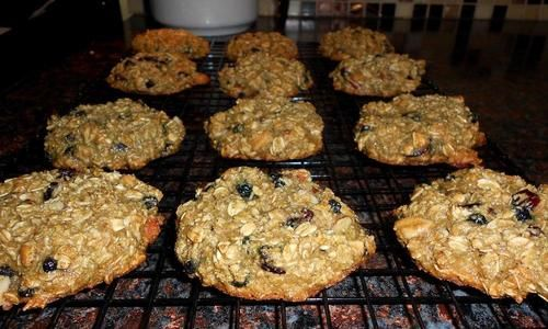 Oats & Trail Mix (anytime-of-day) Cookies!