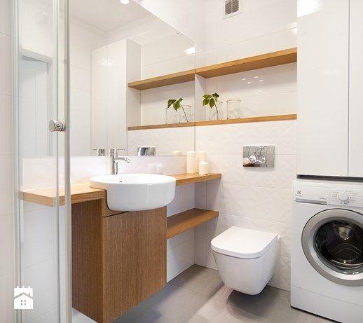Mieszkanie do wynajęcia_Poznań - Mała łazienka, styl minimalistyczny - zdjęcie…