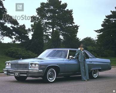 1976 Buick Electra Limited Hardtop Sedan....my grandpa's last car was a burgundy 76 Electra.