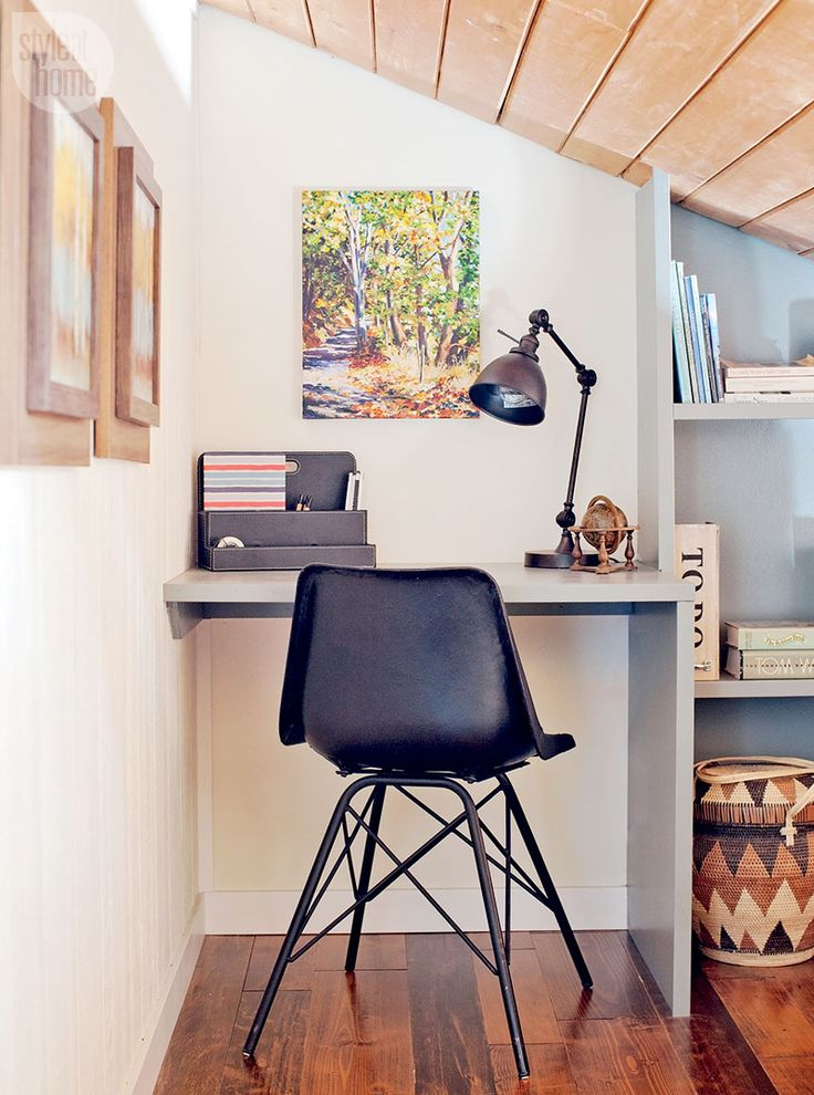 The tiniest (and trendiest) of office nooks {PHOTO: Janis Nicolay}