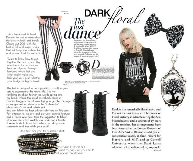 black and white madness by stelamahomie on Polyvore featuring Anja, women's clothing, women's fashion, women, female, woman, misses and juniors