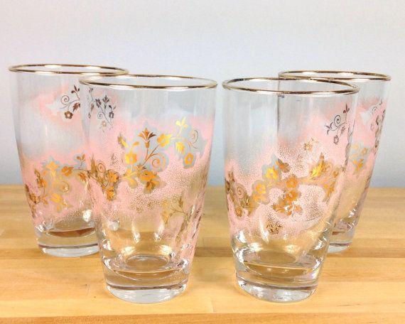 Best 25 Pink Drinking Glasses Ideas On Pinterest Summer