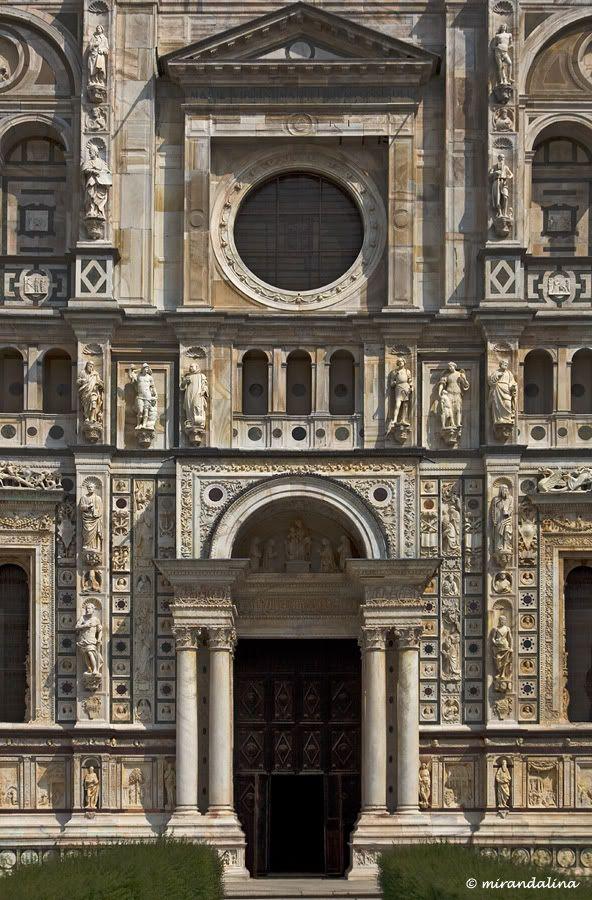 Certosa di Pavia, province of Pavia, Lombardy region Italy