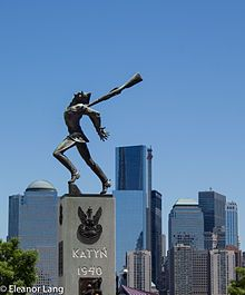 Katyń Memorial (Jersey City) - Wikipedia