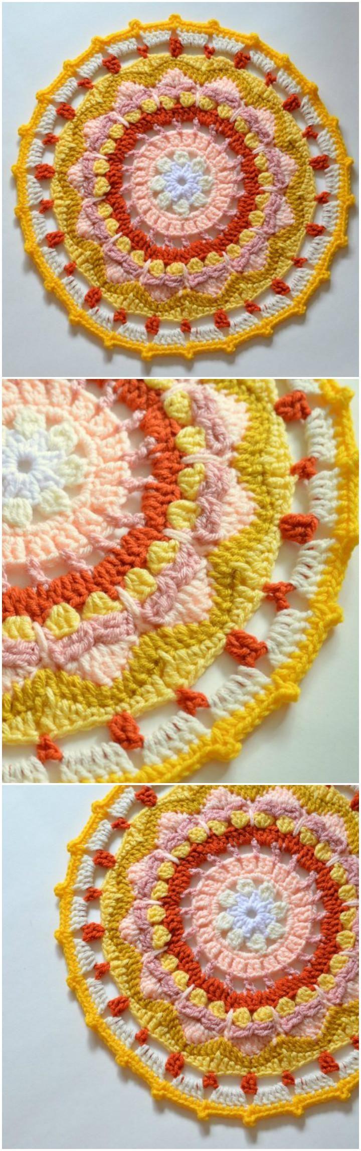 60+ Free Crochet Mandala Patterns - Page 11 of 12 - DIY