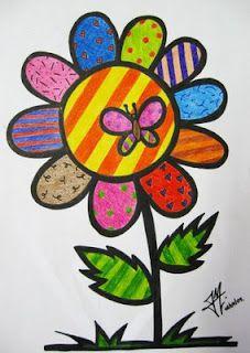 MUNDO DO SABER: Romero Britto para crianças - artes visuais - desenho - pintura - escultura