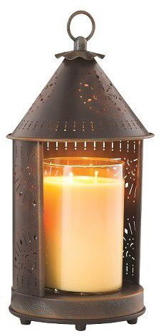 Candle Warmers Etc. Sunshine Candle Warmer Lantern Primitive Tin - Candle Warmers Etc.®