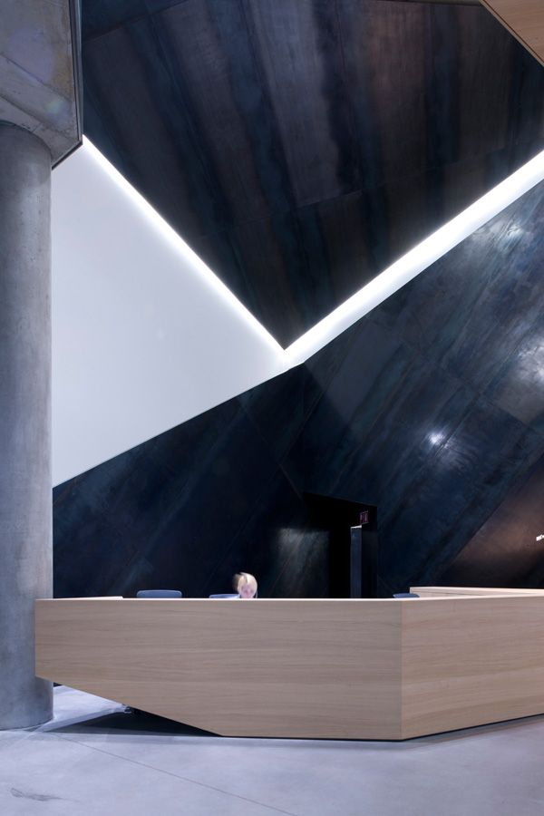 The new Salewa head office was designed by Milan architects Cino Zucchi Architetti and Park Associati. Photo © Zumtobel