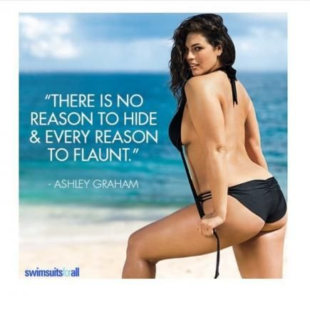 Ashley Gram pushing boundaries with this inspiring quote. Work it!