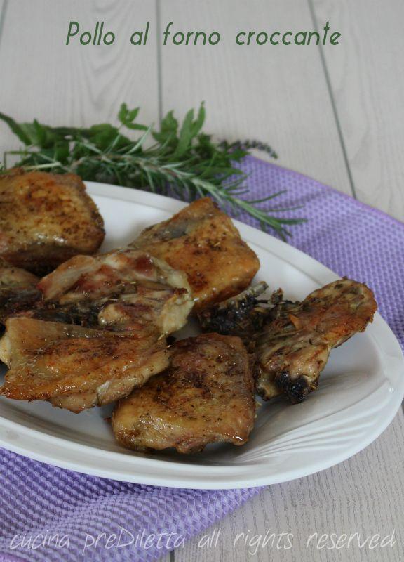 Pollo al forno croccante (simile al pollo fritto) - cucina preDiletta
