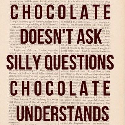 Friday Fun Fact!! Yah to chocolate!