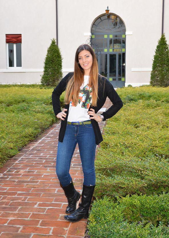 #fashion #blogger dal sito dotyouri.it  Cintura Slim personalizzata, con fibbia in contrasto.