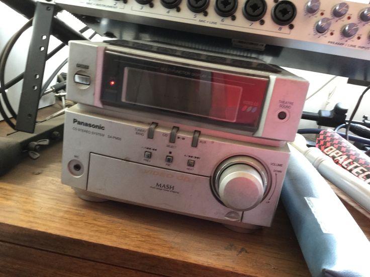 $10.000 - COMPROMETIDO - equipo de musica JVC (con video CD)