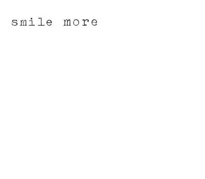 Get grinning.
