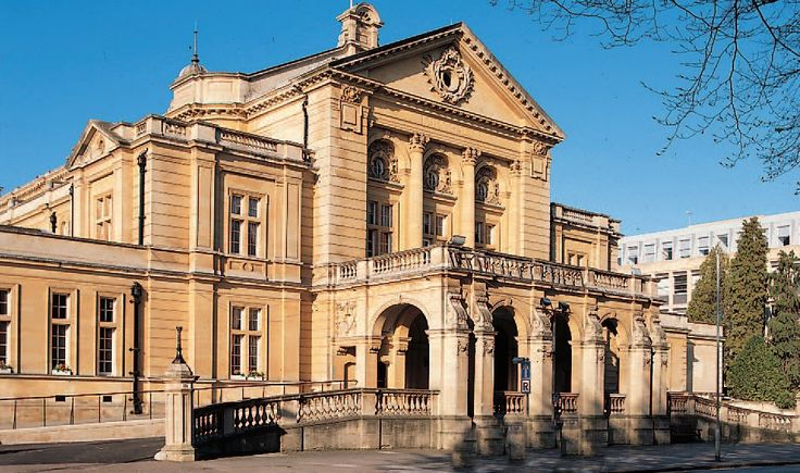Cheltenham town hall, Gloucestershire. I have a photo of Princess Anne visiting in the early 70's. I actually curtsied to her as I snapped it. LOL