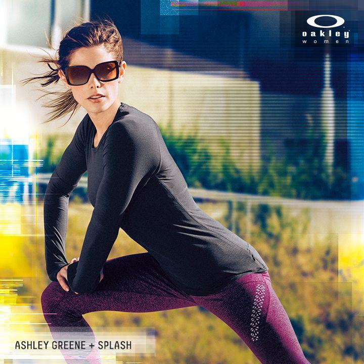 oakley womens rsvp iridium sport sunglasses  ashley greene in the oakley women splash sunglasses.