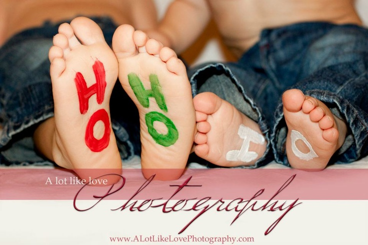 Ho Ho Ho feet... too cute!