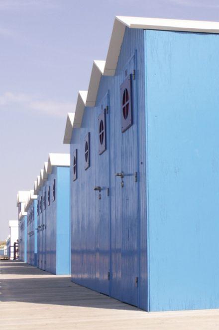 cabines de plage SAINT GILLES CROIX DE VIE-FRANCE