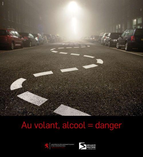 Annonceur : MDdI / Sécurité Routière Campagne : Au volant, alcool = danger Agence : Mikado Publicis Publication : décembre 2013