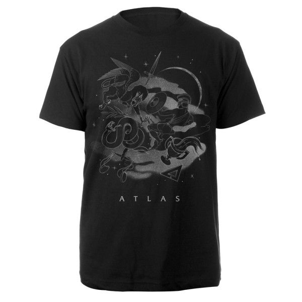Atlas T-Shirts available at Coldplay store #CatchingFire