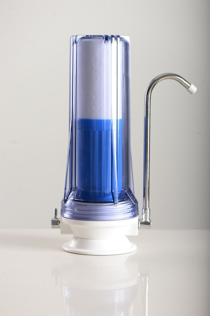 Anchor 2 Stage Countertop Water Filter- Clear