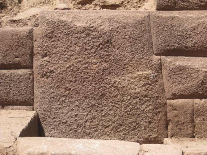 Inca stone at Inkawasi. Image Credit: Peru Ministry of Culture