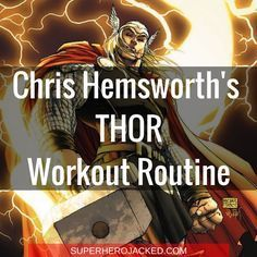 Chris Hemsworth Thor Workout