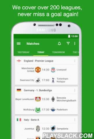 Soccer Scores - FotMob  Android App - playslack.com ,  The #1 football app offering real time scores, news and breaking news notifications from your favorite teams. FotMob covers MLS, NASL, USL, Premier League, Championship, League 1&2, National North&South, La Liga, Bundesliga, Champions League and all the major leagues and tournaments in the world, over 200 leagues in total!Over 10,000,000 people already installed FotMob. Join them now and experience: ✔ Livescores with the fastest…