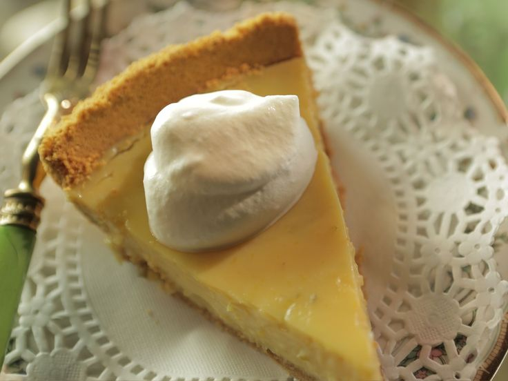 Coconut-Tequila Key Lime Pie recipe from Damaris Phillips via Food Network