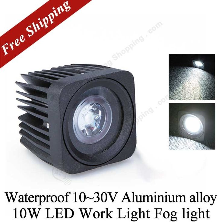 #Waterproof #Car #Lighting >>>10W, DC12V, Jeep SUV ATV, #LED Off-road #Work #Light,  See more at: http://www.lightingshopping.com/led-car-lighting-k855.html