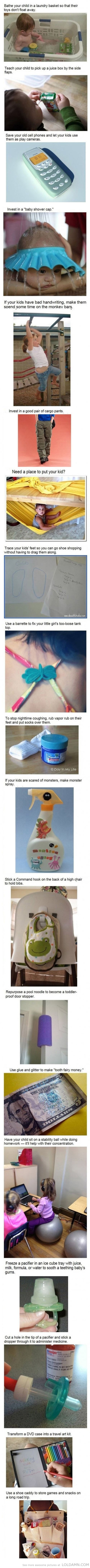 Parenting tips, doing it right…lol