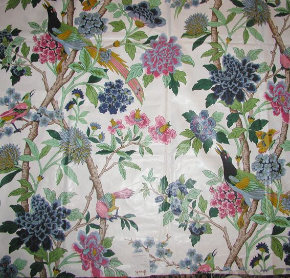 102 best images about chintz on pinterest england tea for Chintz fabric