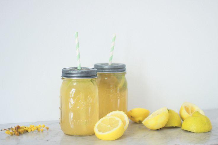 Dollyjessy blog lifestyle mode et cuisine: citronnade limonade au citron maison bio - facile et rapide